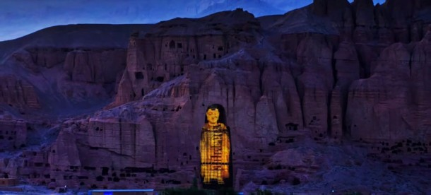 Afghanistan's Buddha of Bamiyan Resurrected Using 3D Lasers 2