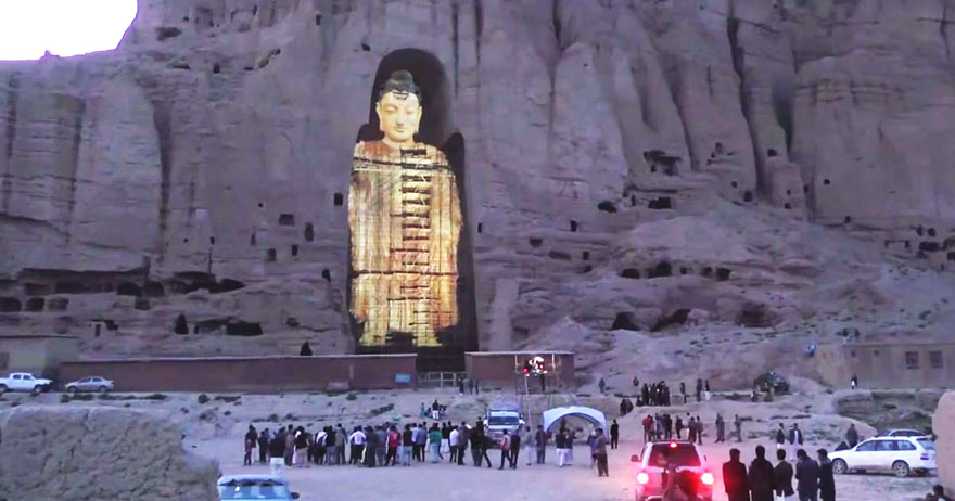 Afghanistan's Buddha of Bamiyan Resurrected Using 3D Lasers 3