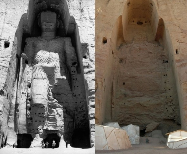 Afghanistan's Buddha of Bamiyan Resurrected Using 3D Lasers