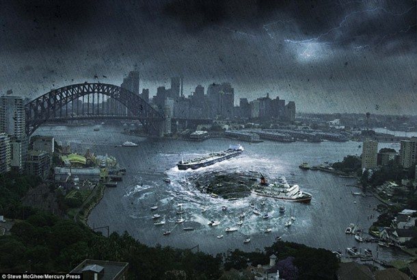 Artist Creates End of World Images