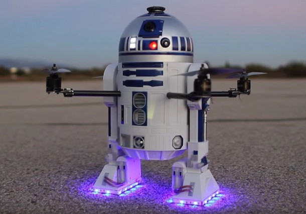 Arturo Is The R2-D2 Drone With The Force