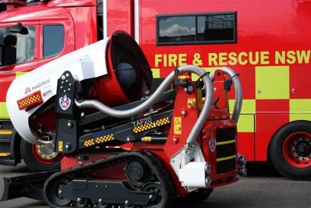 Australia Firefighting Robot