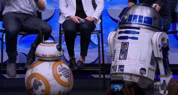 BB-8 droid design issues