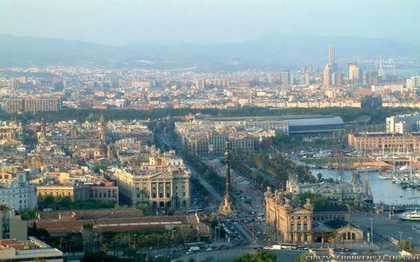 Barcelona City Wallpaper 12