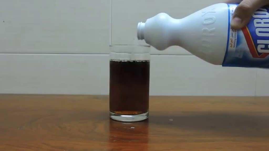 Bleach in Coke
