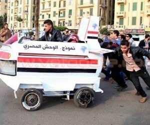 Egypt flying car fail