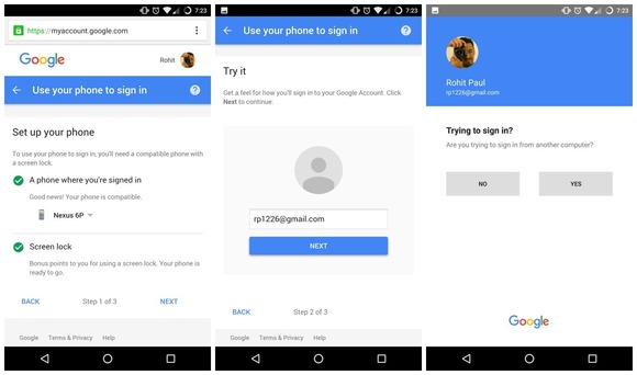 Google Is Trying Out Password-Free Logins 2