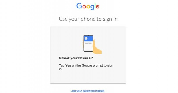 Google Is Trying Out Password-Free Logins