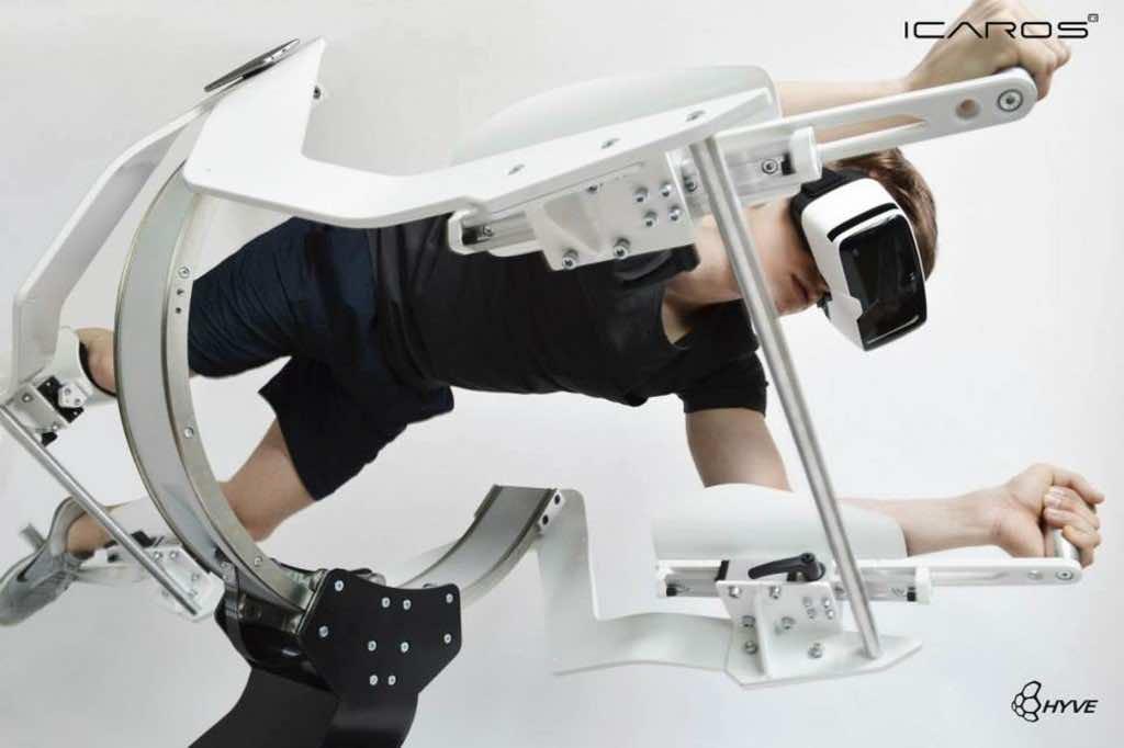 Icaros Fitness Machine Makes Use Of Virtual Reality 5