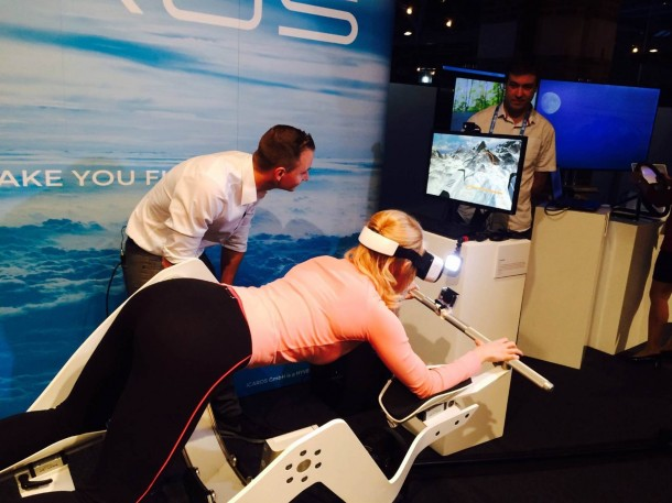 Icaros Fitness Machine Makes Use Of Virtual Reality 6