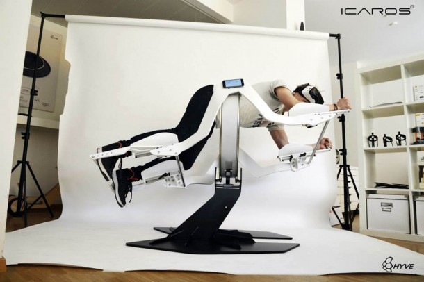 Icaros Fitness Machine Makes Use Of Virtual Reality