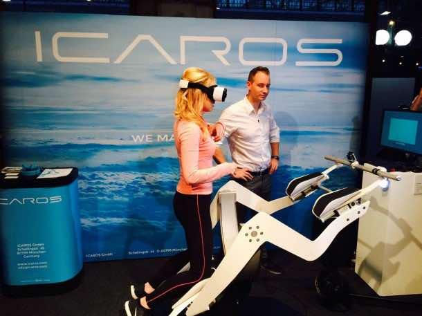 Icaros Fitness Machine Makes Use Of Virtual Reality 7