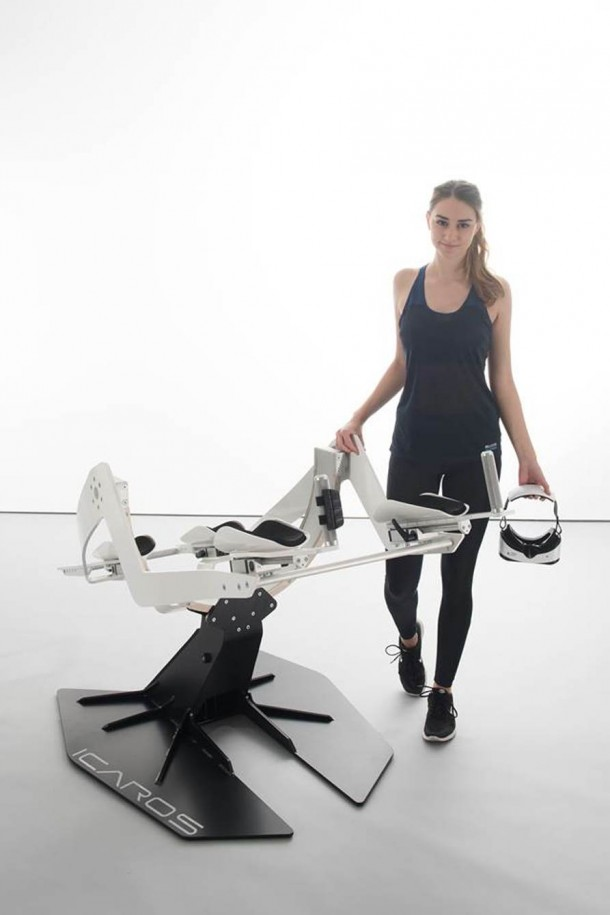 Icaros Fitness Machine Makes Use Of Virtual Reality 8
