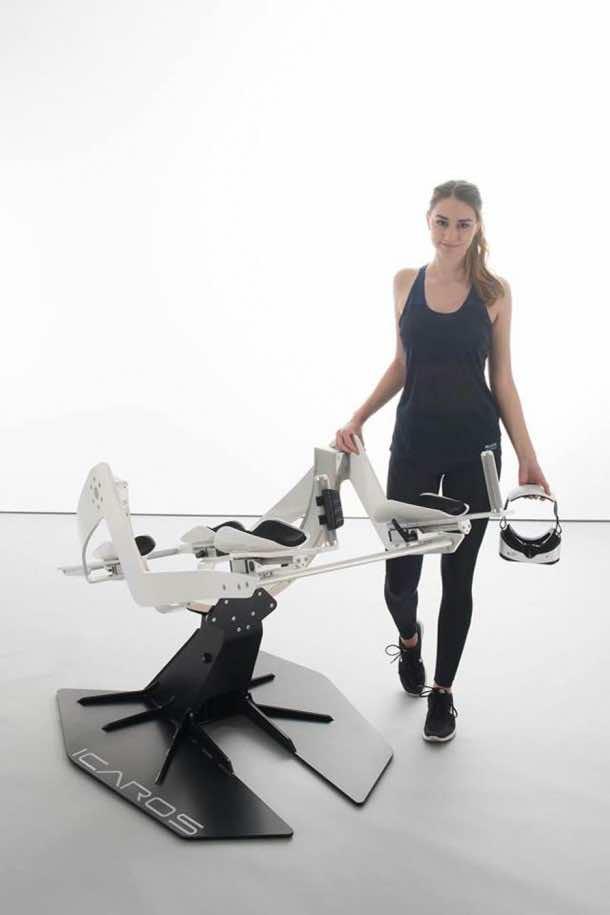Icaros Fitness Machine Makes Use Of Virtual Reality 8