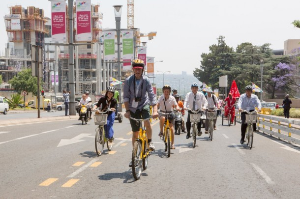 Johannesburg Tried To Go Car-Free For A Month 10