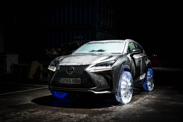 Lexus Put Ice Wheels On NX And Drove It In London