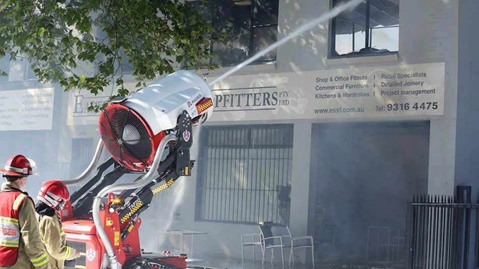 Meet Australian Firefighting Robot