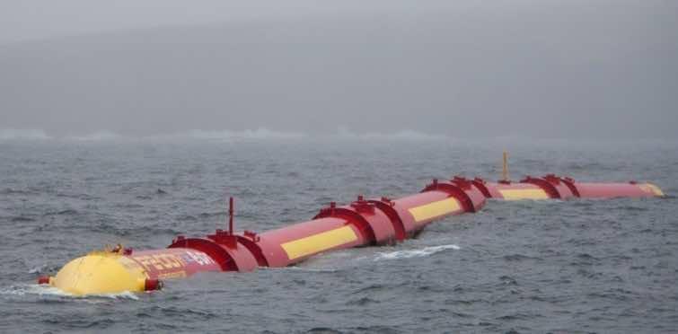 Pelamis Wave Energy Converter Creates Energy From Ocean Waves 3