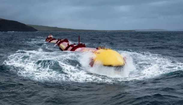 Pelamis Wave Energy Converter Creates Energy From Ocean Waves 4