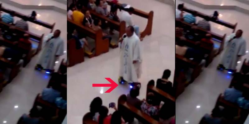 Priest-using-hoverboard