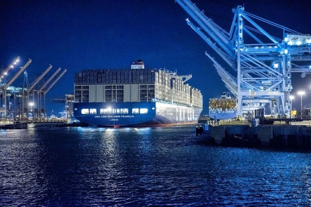 This Cargo Ship Is Bigger Than Empire State Building 2