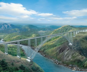 World's Tallest Arch Bridge Is Being Built In India