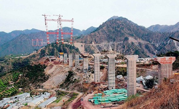 World's Tallest Arch Bridge Is Being Built In India 5