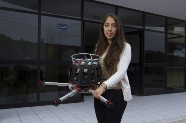 Young Engineer Develops A Drone To Detect Air Pollution 2
