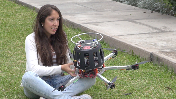 Young Engineer Develops A Drone To Detect Air Pollution 3