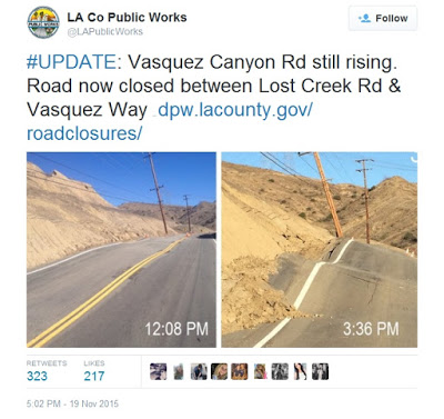 california road rises up 2