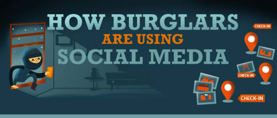This Infographic Shows How Thieves Are Now Using Social Media To Rob Homes