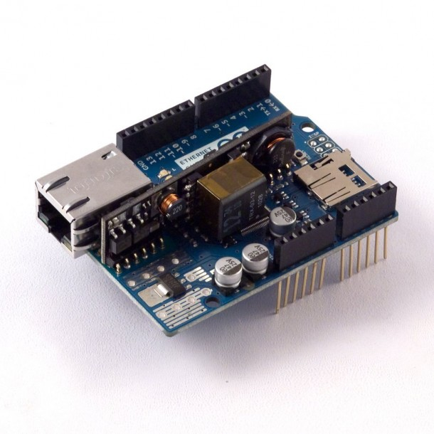 Arduino Ethernet Shield R3 with PoE module