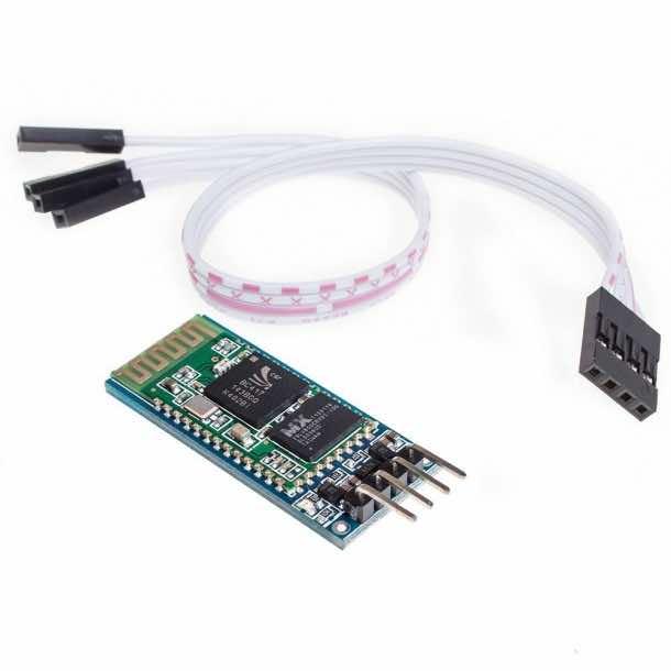 KEDSUM Arduino Wireless Bluetooth Transceiver Module Slave 4Pin Serial + DuPont Cable