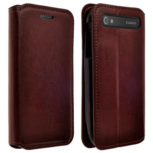 Magnetic Leather Folio Flip Book Wallet Pouch by Galaxy Wireless