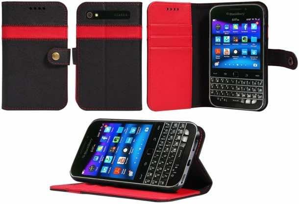 BlackBerry Classic Wallet Case, AceAbove