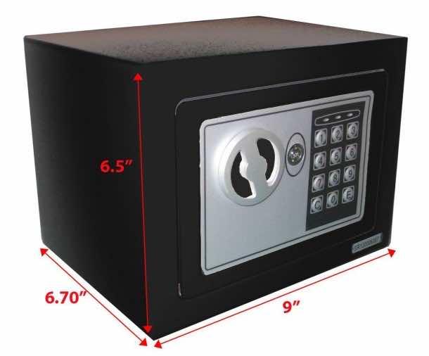 10 Best Electronic safes for dorm (3)