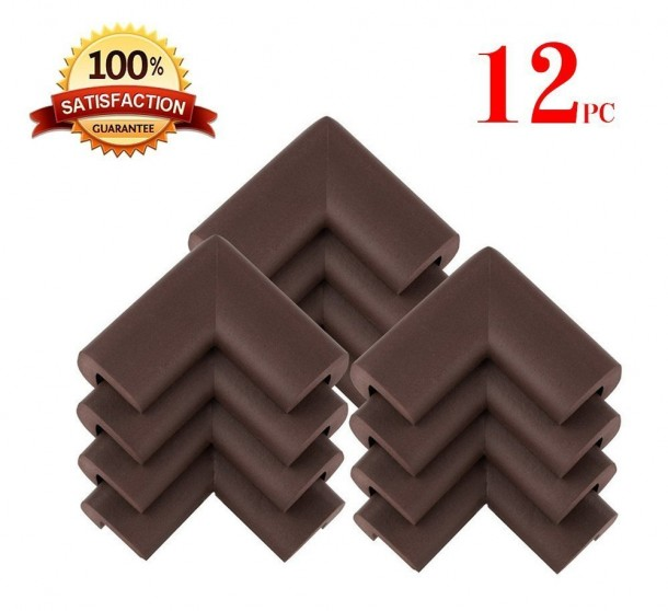 KINGLAKE® 12 PCS Cushiony Table Furniture Childproofing Corner Guards
