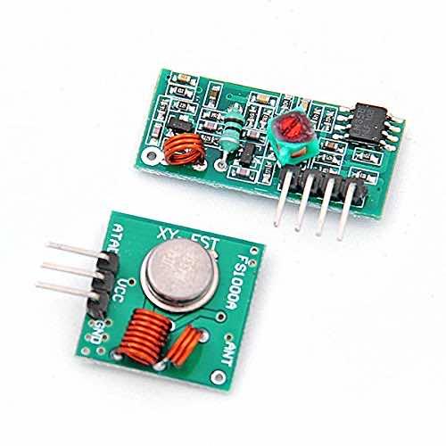 433Mhz RF transmitter-receiver link kit for Arduino