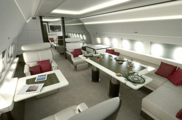 5 Private Jets That You Can Dream About 4