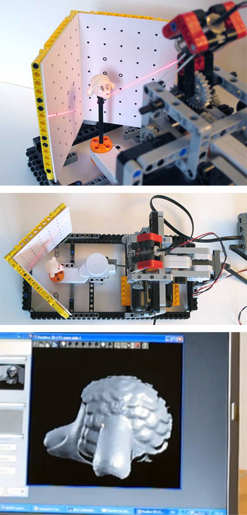7 Wonderfully Engineered Gadgets Made Out Of LEGO 2c