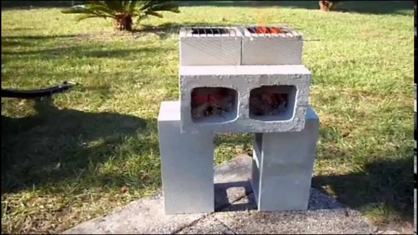 Build Your Own Rocket Stove With A Few Cinder Blocks 4