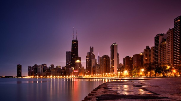 North Avenue Beach Sunrise-Chicago
