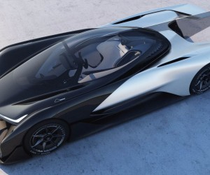 Faraday Future Unveils FFZERO1 Concept At CES 2016
