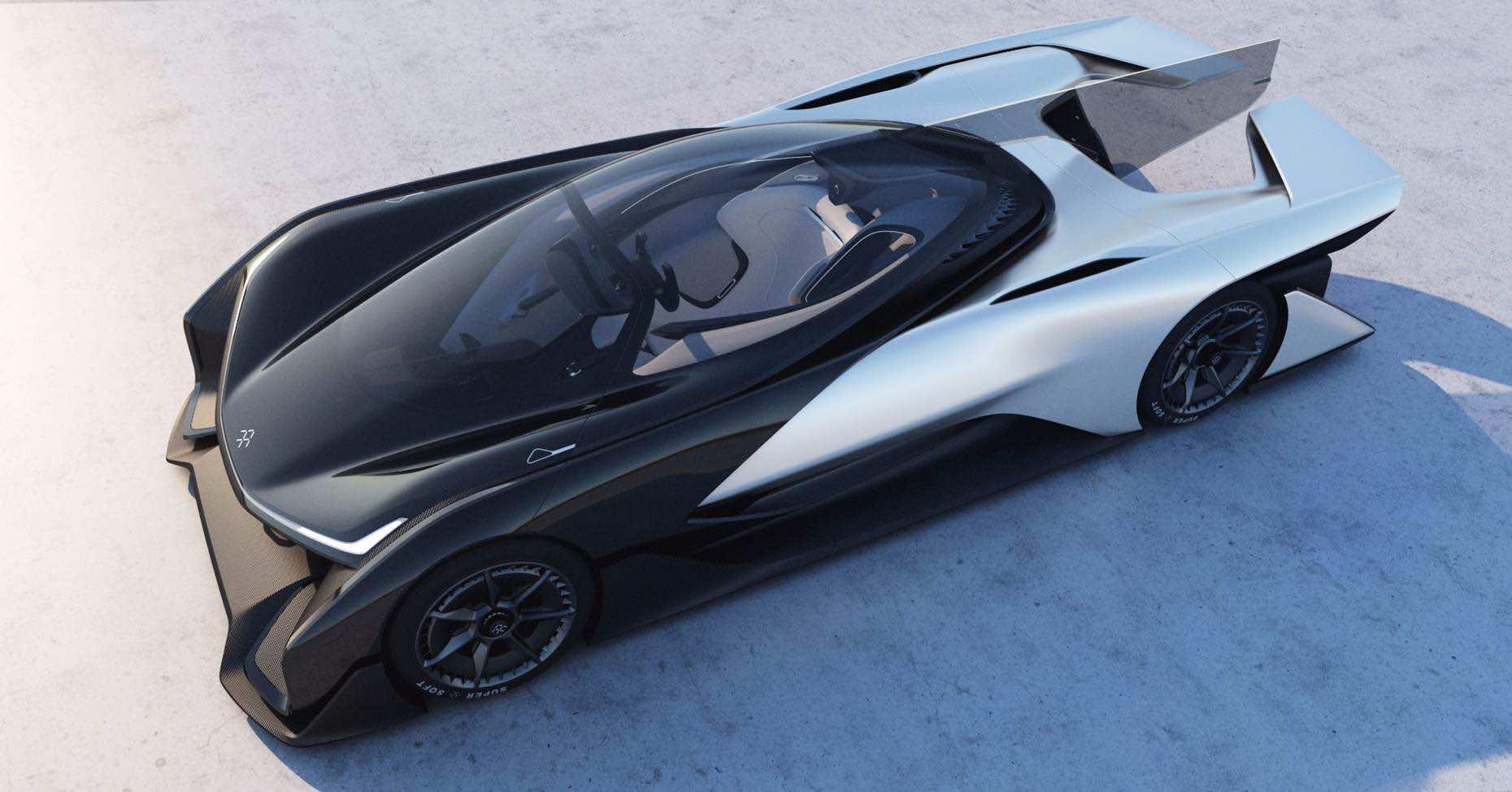 Faraday Future Unveils FFZERO1 Concept At CES 2016