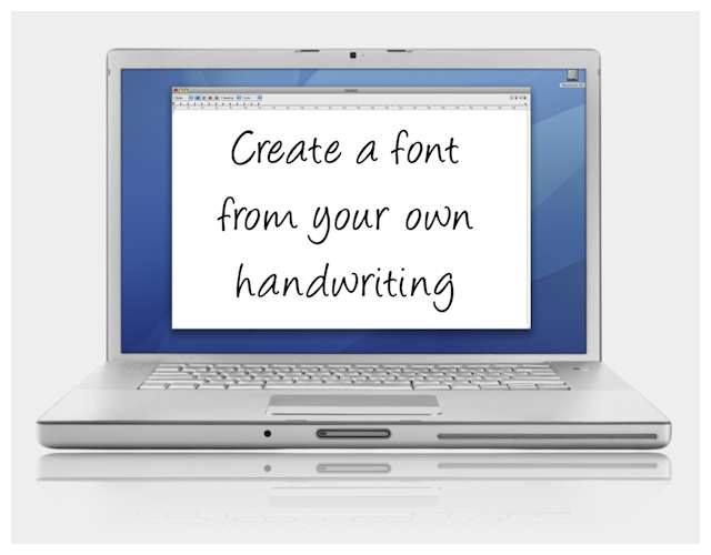 Here's How You Can Create A Computer Font With Your Own Handwriting