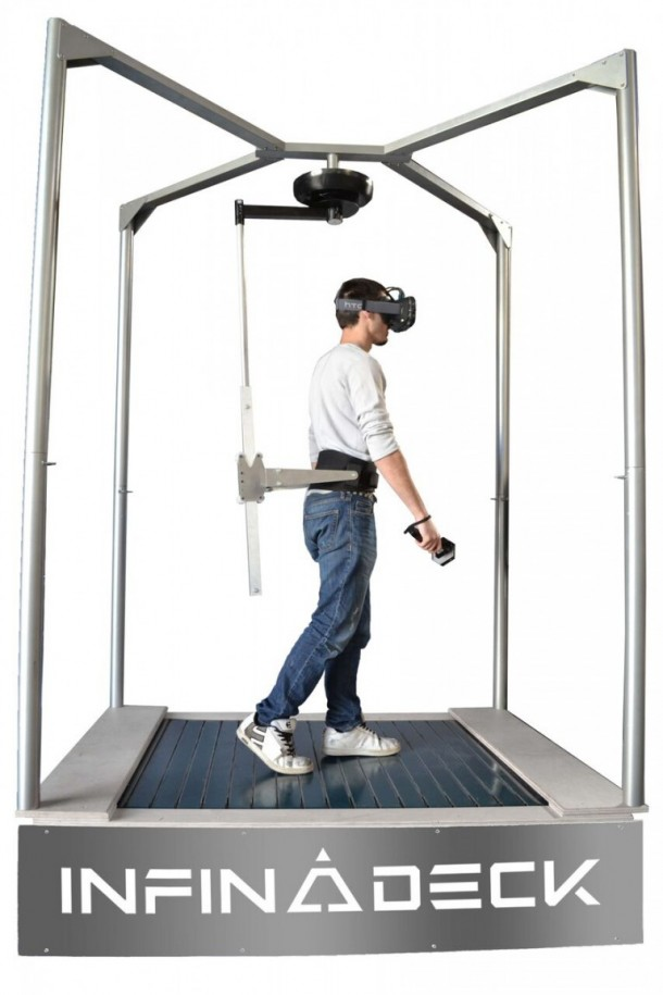 Infinadeck Omnidirectional Treadmill Will Change VR For You 2