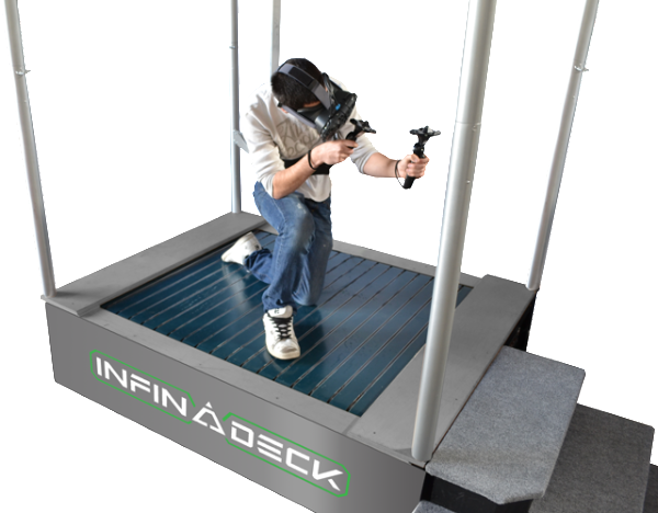 Infinadeck Omnidirectional Treadmill Will Change VR For You 3
