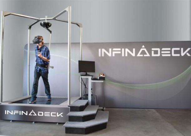 Infinadeck Omnidirectional Treadmill Will Change VR For You