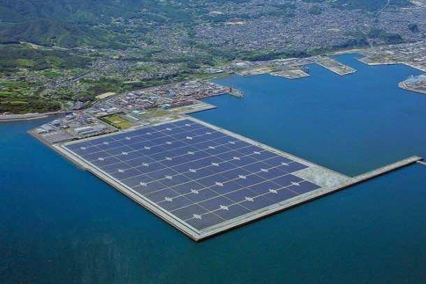 Japan Is Building Largest Floating Solar Power Plant 3