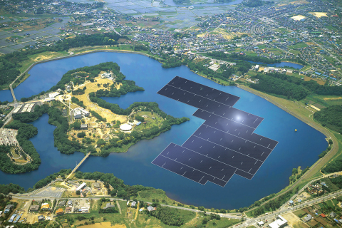 Japan Is Building Largest Floating Solar Power Plant 4